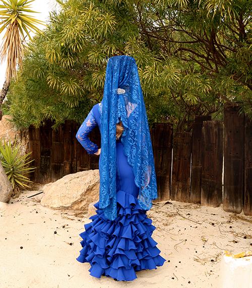 vestido flamenco señora económico