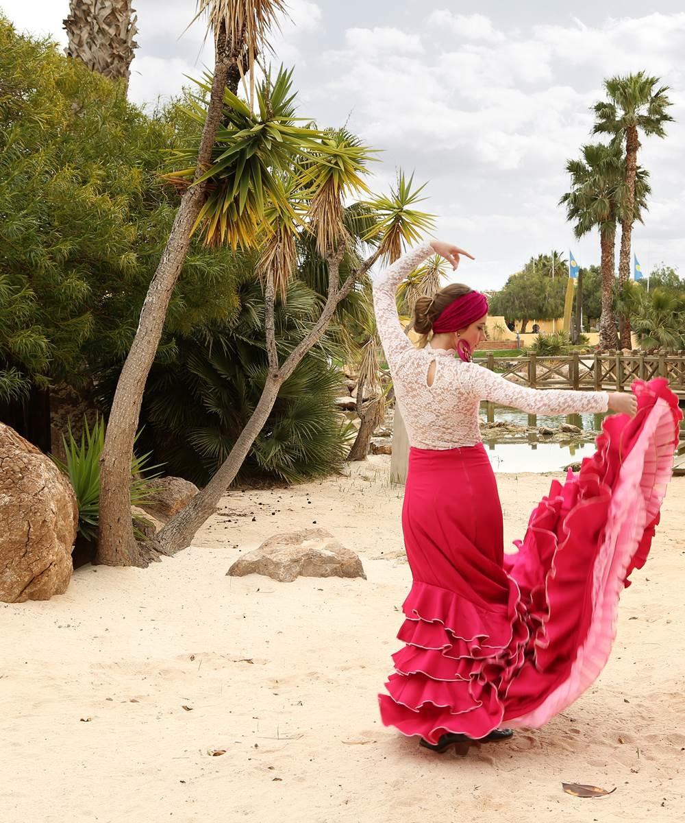 Batas de cola flamencas