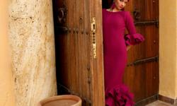 vestido flamenco económico y elegante