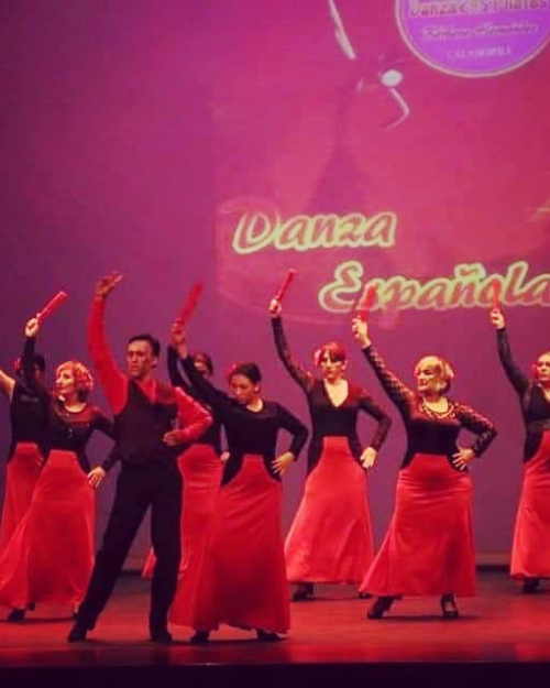 faldas ensayo flamenco