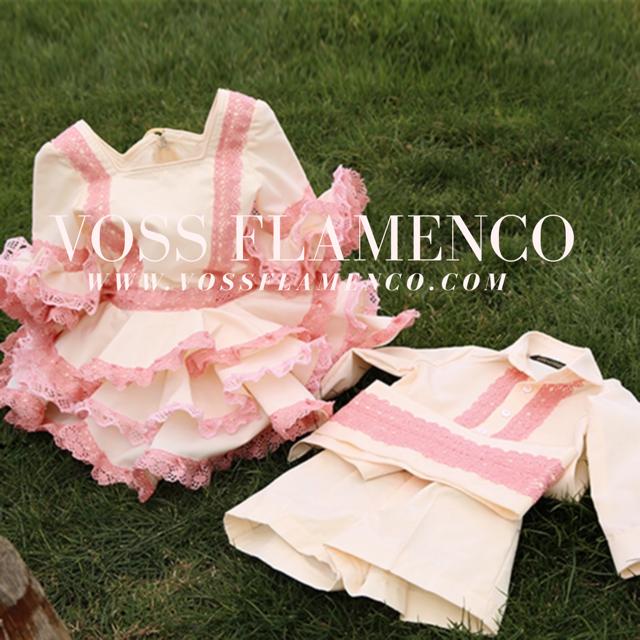 Conjuntos flamencos niños