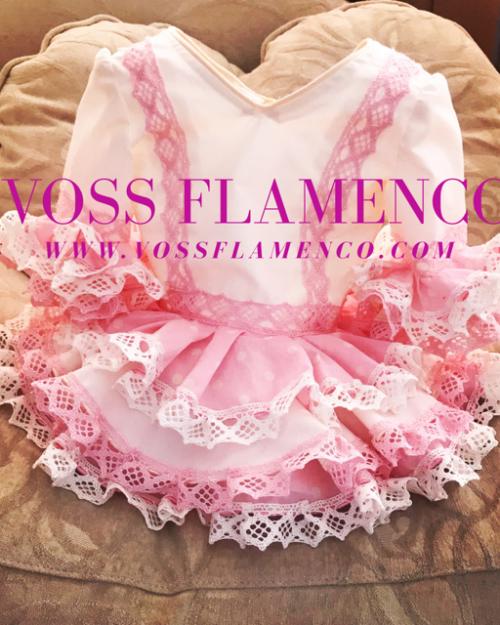 vestido flamenco niña
