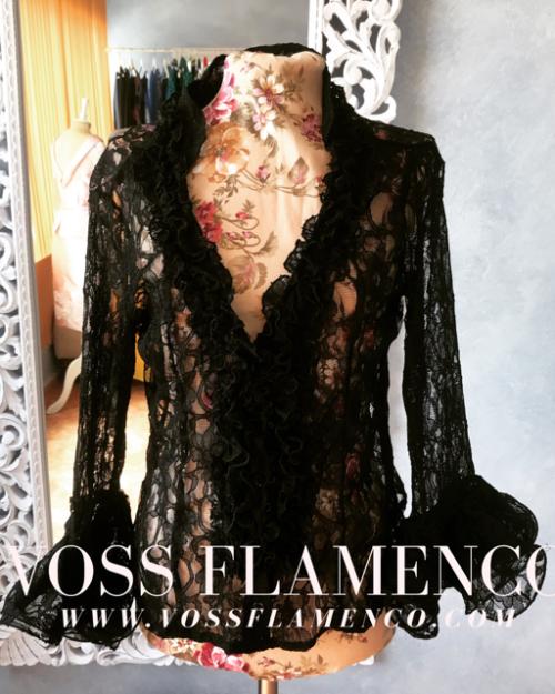 Camisa flamenca encaje