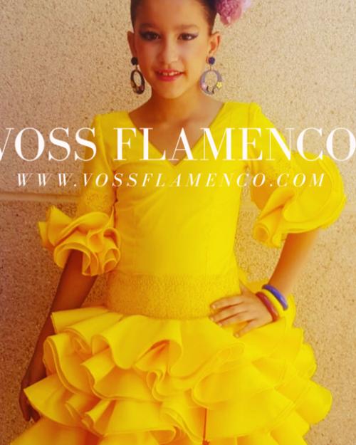 vestidos flamencos niñas