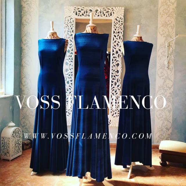 vestido ensayo flamenco