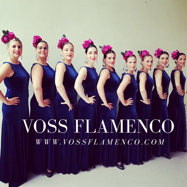 Vestido ensayo y espectáculo flamencoc
