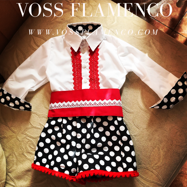 conjunto flamenco niño
