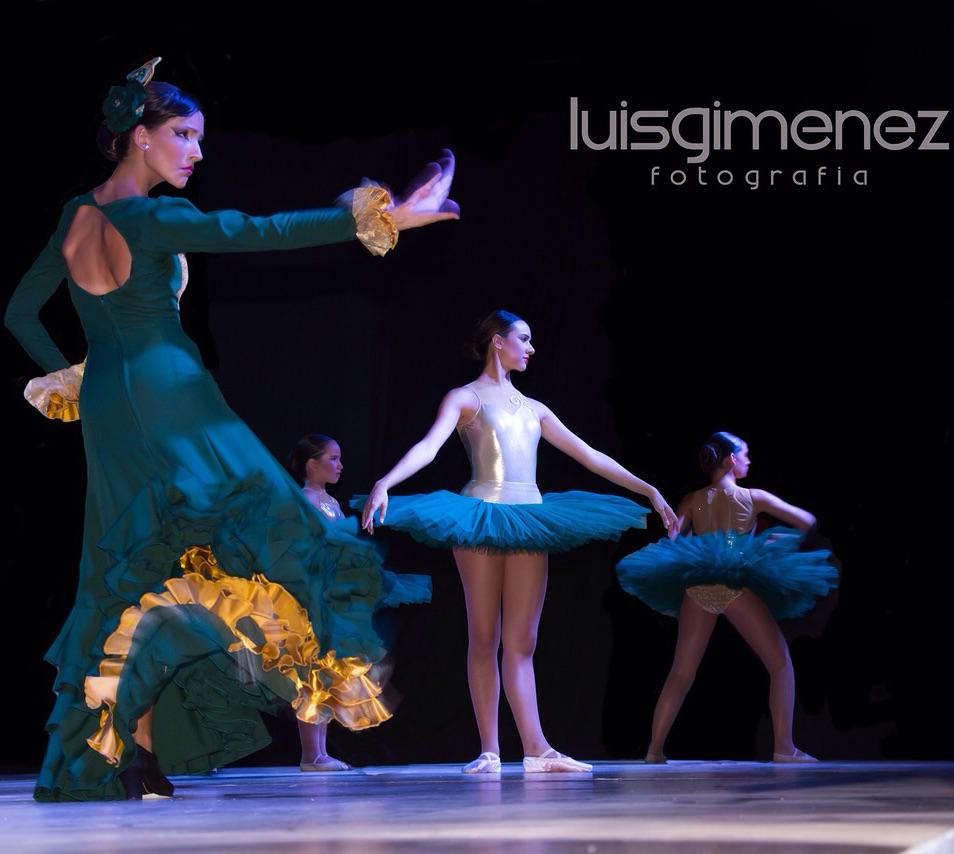 vestidos ensayo y espectáculo flamenco