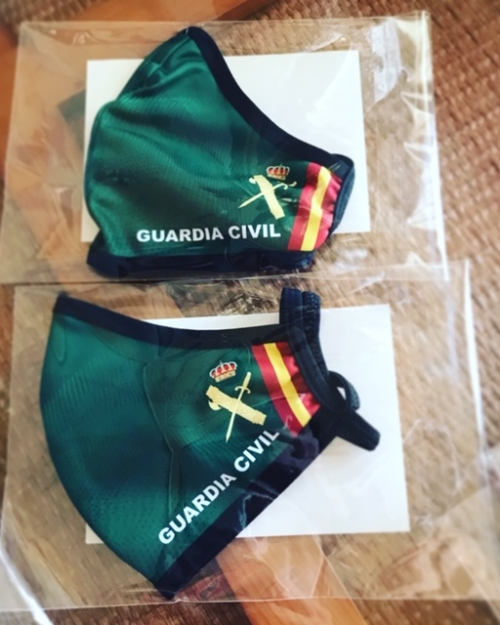 mascarillas guardia civil