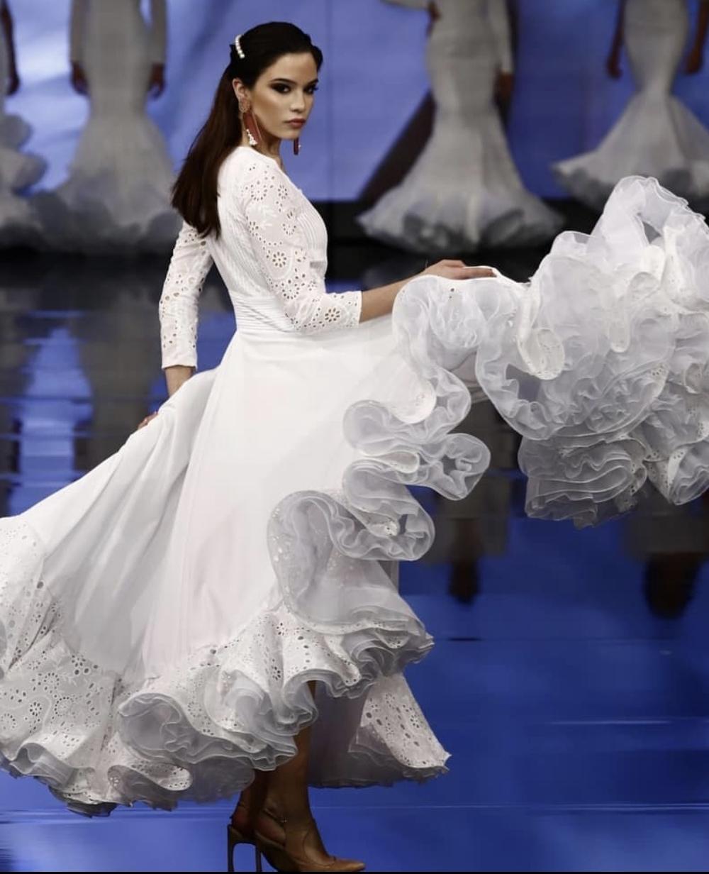vestidos flamencos señora