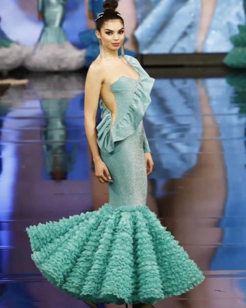 vestido flamenco señora