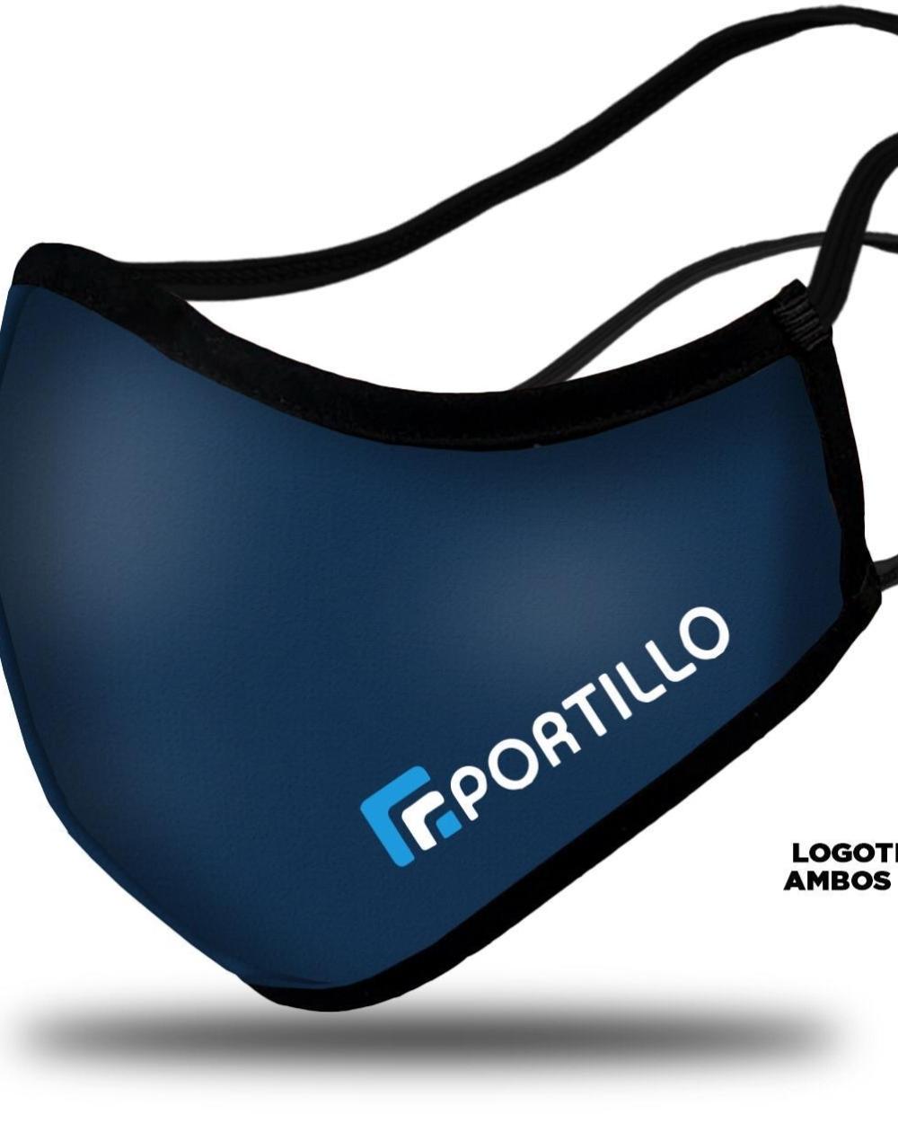 mascarillas personalizadas reutilizables con logo empresa