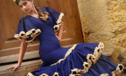 vestido flamenca económico