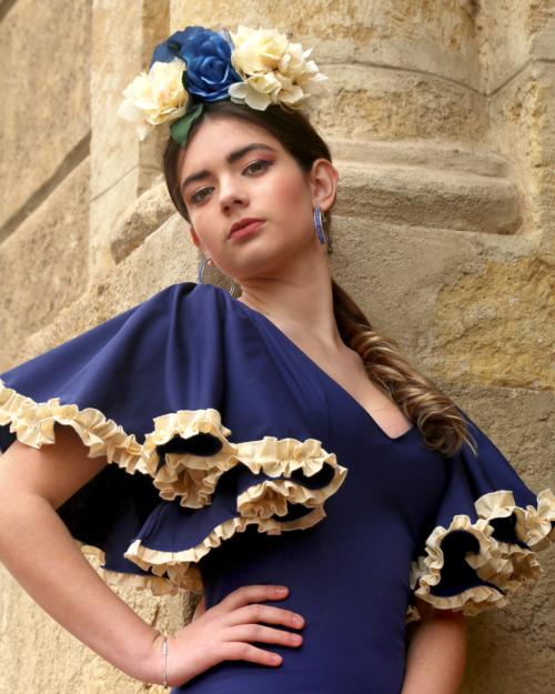 tocados flamencos personalizados
