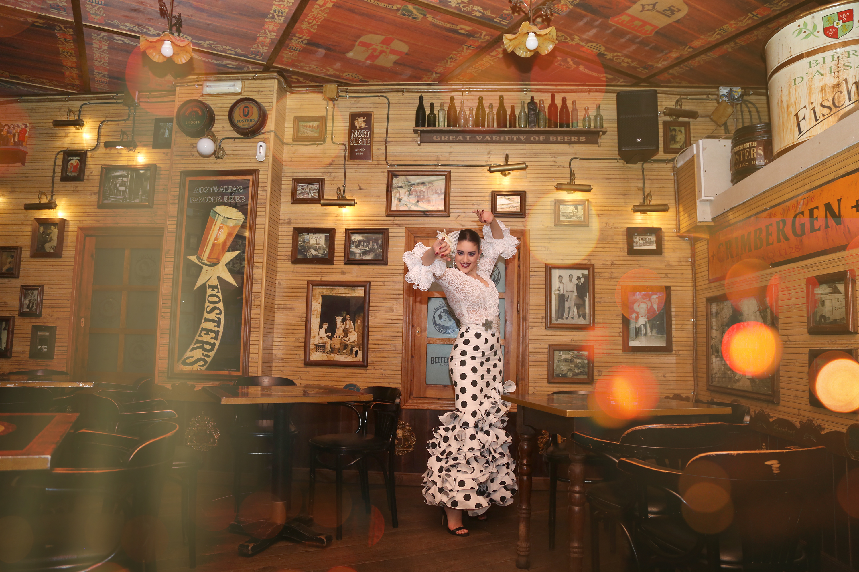 jupes et chemises flamenco