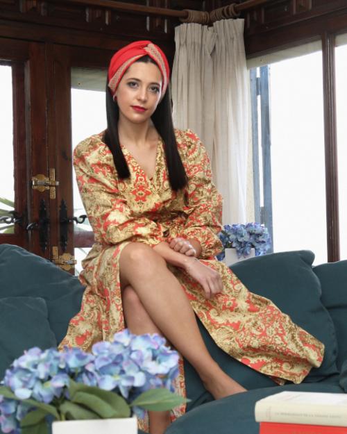 turbantes y kimonos